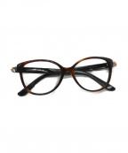 JIMMY CHOO()の古着「眼鏡」 ブラウン