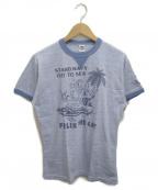 TOYS MCCOY(トイズマッコイ)の古着「フェリックスプリントTシャツ」|スカイブルー
