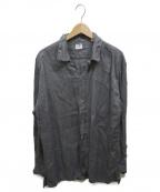 C.P COMPANY(シーピーカンパニー)の古着「オーバーサイズリネンシャツ」|グレー