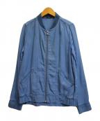 Denham(デンハム)の古着「ジップブルゾン」|インディゴ