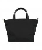 SAZABY(サザビー)の古着「2wayナイロンハンドバッグ」|ブラック