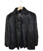 SAGA MINK(サガミンク)の古着「ファーコート」|ブラウン
