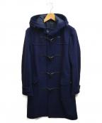 MORGAN HOMME(モルガンオム)の古着「ロングダッフルコート」|ネイビー
