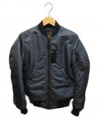 FULLCOUNT(フルカウント)の古着「MA-1フライトジャケット」 ブラック