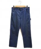 Sears(シアーズ)の古着「70'sペインターパンツ」|ブルー