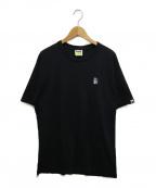 BAPE BY A BATHING APE(ベイプバイアベイシングエイプ)の古着「URSUSバックプリントTシャツ」|ブラック