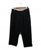 NEAT(ニート)の古着「コットンピケパンツ」|ブラック
