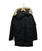 LEVI'S(リーバイス)の古着「ダウンコート」|ブラック