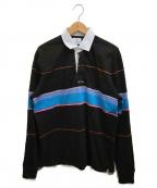 Noah(ノア)の古着「ラガーシャツ」 ブラック