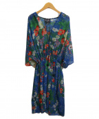 KEITA MARUYAMA(ケイタマルヤマ)の古着「ブラウスワンピース」|ブルー