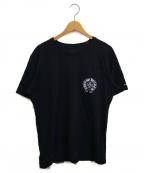 CHROME HEARTS(クロムハーツ)の古着「バッククロスプリントポケットTシャツ」|ブラック