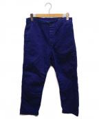 orSlow(オアスロウ)の古着「ヘリンボーンコットンツイルフレンチワークパンツ」|ネイビー