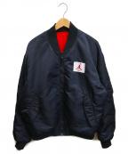 JORDAN(ジョーダン)の古着「MA-1ジャケット」|ブラック