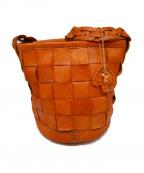 robita(ロビタ)の古着「編込みバッグ」|キャメル