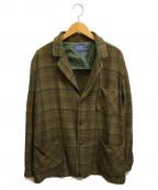 PENDLETON(ペンドルトン)の古着「[古着]60-70'sヴィンテージウールジャケット」|カーキ