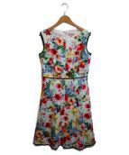 ()の古着「LOVE GARDENドレス」|ピンク×ホワイト