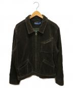 POLO RALPH LAUREN(ポロ・ラルフローレン)の古着「ブランケットライナーコーズジャケット」|ブラウン