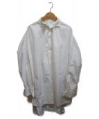 ()の古着「プルオーバーシャツワンピース」|ホワイト
