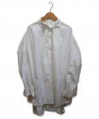 GALLEGO DESPORTES(ギャレゴデスポート)の古着「プルオーバーシャツワンピース」|ホワイト