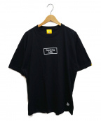 FR2(エフアールツー)の古着「プリントカットソー」 ブラック