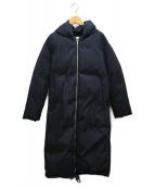 ()の古着「フーデットダウンコート」 ブラック