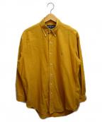 RALPH LAUREN(ラルフローレン)の古着「ボタンダウンシャツ」 イエロー