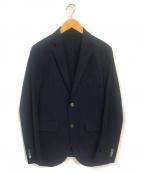 EPOCA UOMO(エポカウォモ)の古着「プレーンストレッチジャケット」 ネイビー