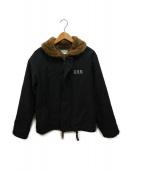 ()の古着「N-1デッキジャケット」|ブラック