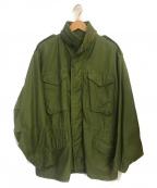 ALPHA(アルファ)の古着「72年製M65ジャケット」 オリーブ