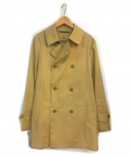 Traditional Weatherwear(トラディショナルウェザーウェア)の古着「撥水ハーフトレンチコート」|ベージュ