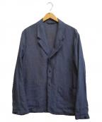 nestrobe confect(ネストローブ コンフェクト)の古着「リネンジャケットセットアップ」 ネイビー