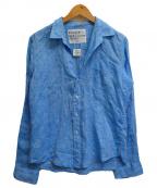 Frank&Eileen(フランクアンドアイリーン)の古着「リネンシャツ」 ブルー