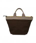 VIOLAd'ORO()の古着「2way舟形トートバッグ」|ブラウン