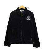 ()の古着「コーデュロイデッキジャケット」 ブラック