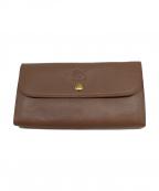 IL BISONTE(イルビゾンテ)の古着「長財布」|ベージュ