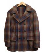 ()の古着「[OLD]50'SヴィンテージハーフPコート」 ブラウン