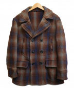 HERCULES(ヘラクレス)の古着「[OLD]50'SヴィンテージハーフPコート」|ブラウン