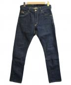 RRL(ダブルアールエル)の古着「テーパードデニムパンツ」|インディゴ