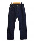 FULLCOUNT(フルカウント)の古着「スリムストレートデニムパンツ」 インディゴ