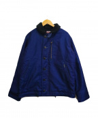 BLUE BLUE(ブルーブルー)の古着「ジャーマンクロスデッキジャケット」|インディゴ