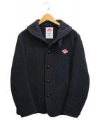()の古着「丸襟ウールモッサジャケット」 グレー