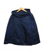 TABASA(タバサ)の古着「パデットポンチョ」|ネイビー