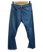 LEVI'S RED(リーバイスレッド)の古着「立体裁断デニムパンツ」|インディゴ