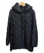 UNTITLED(アンタイトル)の古着「キルトダウンコート」|ブラック