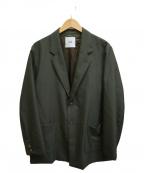 CLANE HOMME(クラネ オム)の古着「MOHAIR POPLINセットアップ」 グリーン