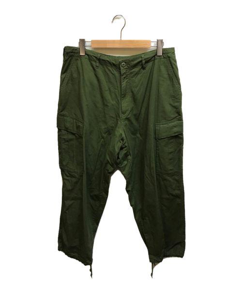 HINSON(ヒンソン)HINSON (ヒンソン) 6ポケットカーゴパンツ カーキ サイズ:Lの古着・服飾アイテム