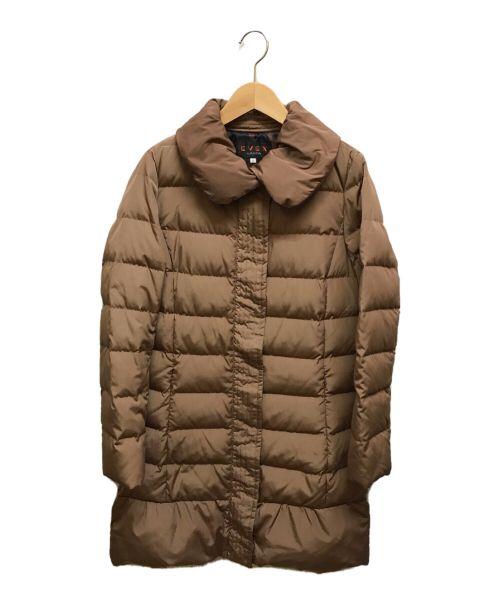 EVEX by KRIZIA(エヴェックスバイクリツィア)EVEX by KRIZIA (エヴェックスバイクリツィア) ダウンコート ブラウン サイズ:38の古着・服飾アイテム