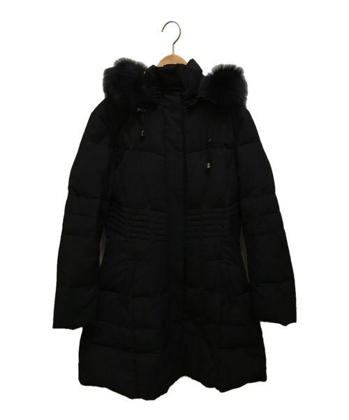 RUIRUE BOUTIQUE(ルイルエブティック)RUIRUE BOUTIQUE (ルイルエブティック) ダウンコート ブラック サイズ:4Lの古着・服飾アイテム