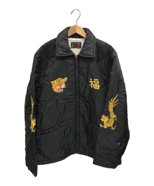 東洋エンタープライズ(トウヨウエンタープライズ)東洋エンタープライズ (トウヨウエンタープライズ) キルティングベトジャン ブラック サイズ:Lの古着・服飾アイテム