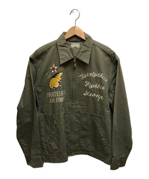 BUZZ RICKSON'S(バズリクソンズ)BUZZ RICKSON'S (バズリクソンズ) ツアージャケット グリーン サイズ:40の古着・服飾アイテム